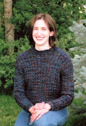 Mountain Colors Patterns - Lost Trail Cabled Pullover Pattern