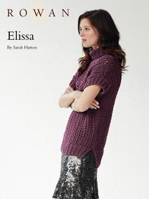 Rowan All Seasons Chunky Elissa Pullover Kit Womens Pullovers