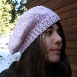 2 Knit Wits Patterns - Sand Dollar Beret Pattern