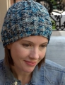 Plymouth Worsted Merino Superwash Mistake Rib Stitch Hat Kit
