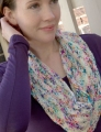 Plymouth Worsted Merino Superwash Traveling Cowl