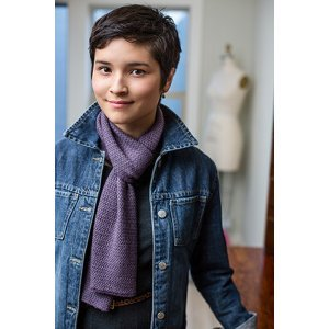 Rowan Fine Lace Two-Tone Twill Scarf Kit - Scarf and Shawls