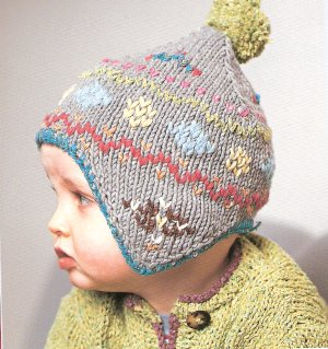 Rowan All Seasons Cotton Pixie Baby Hat Kit - Baby and Kids Accessories