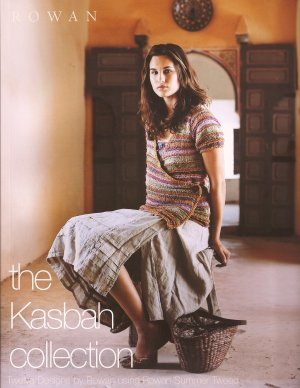 Rowan Pattern Books - The Kasbah Collection (Summer Tweed)
