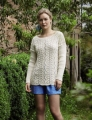 Rowan Wool Cotton Catarina Pullover  Kit