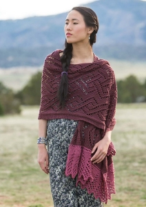 Cascade Longwood Celtic Winter Wrap Kit - Scarf and Shawls