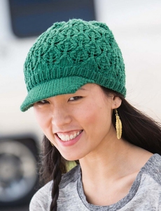 Cascade Longwood Cascading Leaves Hat Kit - Hats and Gloves