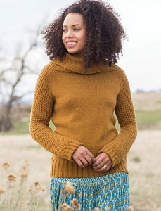 Cascade Longwood Cowl Neck Raglan Kit - Women's Pullovers