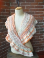 Knit Collage Pixie Dust Mini Pixie Ruffle Shawl Kit