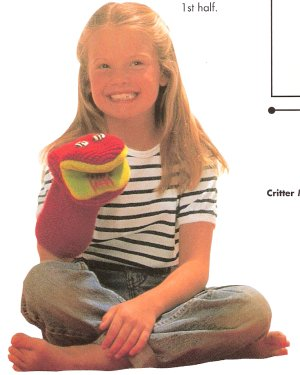 Cascade 220 Learn to Knit Puppet Kit - Baby and Kids Accessories