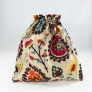 della Q Large Eden Cotton Project Bag (119-1) - Waterton