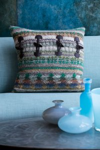 Noro Patterns - 09 Fair Isle Pillow Cover - PDF DOWNLOAD Pattern