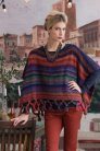 Noro Patterns - 12 Fringed Poncho - PDF DOWNLOAD