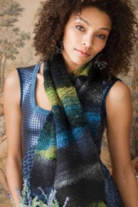 Noro Patterns - 28 Short Row Scarf - PDF DOWNLOAD Pattern