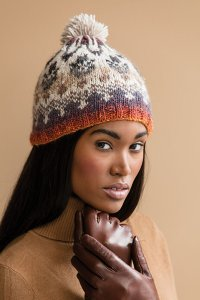 Noro Patterns - 15 Fair Isle Hat - PDF DOWNLOAD Pattern
