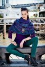 Malabrigo Book Seven: Rasta in Brooklyn Patterns - Columbia Waterfront - PDF DOWNLOAD