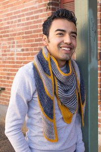 Renegade Knitwear Patterns - Soundbreaker Shawl - PDF DOWNLOAD Pattern