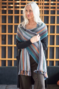 Berroco Portfolio Vol. 6 Patterns - Running Stitch Scarf - PDF DOWNLOAD Pattern