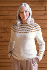 Berroco Portfolio Vol. 6 Patterns - Arcata Pullover - PDF DOWNLOAD Pattern