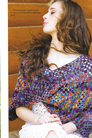 Koigu Patterns - Granny Square Poncho - PDF DOWNLOAD