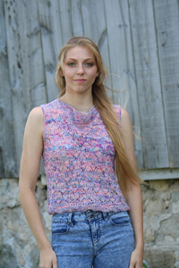 Koigu Patterns - Alcove Top - PDF DOWNLOAD