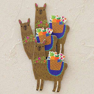 Natural Life Llive Happy Collection - Llama Emery Boards