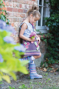 Rowan Little Rowan Blossom Collection Patterns - Cluster Bag - PDF DOWNLOAD Pattern