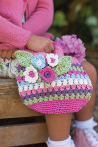 Rowan Little Rowan Blossom Collection Patterns - Flower Carry Bag - PDF DOWNLOAD Pattern