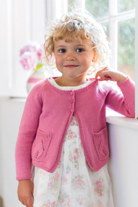 Rowan Little Rowan Blossom Collection Patterns - Camelia - PDF DOWNLOAD Pattern