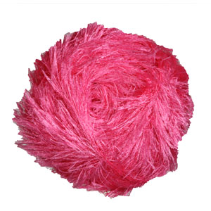 Sirdar Funky Fur Yarn - 205 Shocking Pink