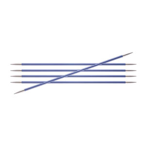 "Knitter's Pride Zing Double Pointed Needles - US 7 (4.5mm) - 6"" Iolite Needles"