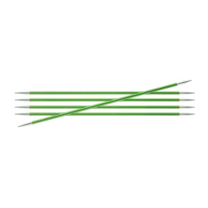 "Knitter's Pride Zing Double Pointed Needles - US 4 (3.5mm) - 8"" Chrysolite Needles"