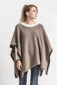 Blue Sky Fibers The Classic Series Patterns - Big Splash Poncho - PDF DOWNLOAD Pattern