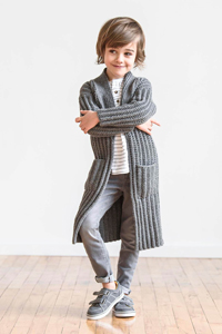 Spud & Chloe Small Fries Collection Patterns - Just Right Jacket - PDF DOWNLOAD Pattern