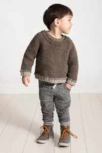 Spud & Chloe Tiny Tots Collection Patterns - Jack and Jill Jumper - PDF DOWNLOAD Pattern