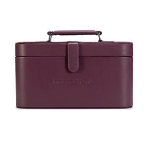 Namaste Maker's Train Case - Eggplant