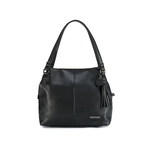 Namaste Maker's Shoulder Bag - Black