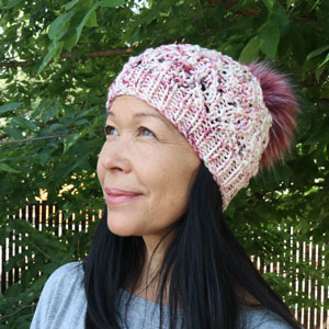Jimmy Beans Wool Boobie Beanie Hat Kit - Hakuna Matatas - Knit