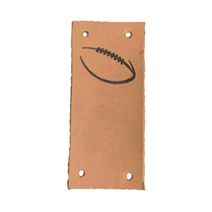 Leather Goods Company - Center Fold Leather Label photo