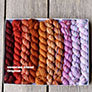 Koigu Pencil Box - Venation Shawl - Original