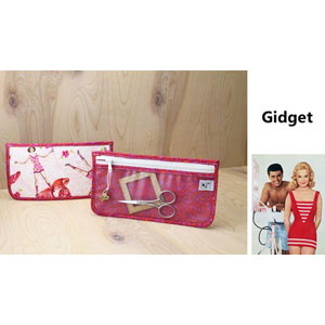 Chicken Boots Notions Case - Gidget