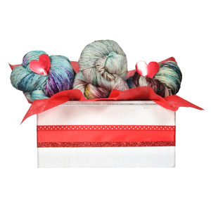 Jimmy Beans Wool Madelinetosh Yarn Bouquets - Free Your Fade Bouquet - Baudelaire