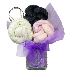 Jimmy Beans Wool Suburban Wrap Bouquet - Nelly Bly