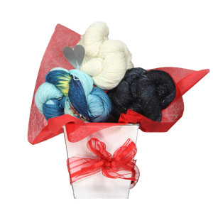 Jimmy Beans Wool Suburban Wrap Bouquet - Star-Spangled Sally Ride