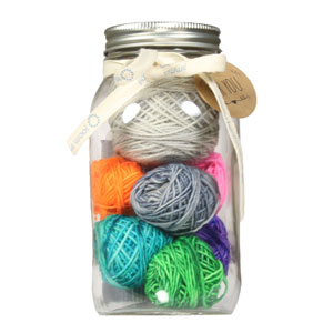 Jimmy Beans Wool Modicum Mitts Mason Jar Sampler