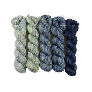 Koigu Gradient Family Pack - Denim Gradient