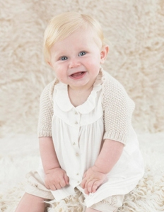 Sublime Baby Cashmere Merino Silk DK Nelly Shrug Kit - Baby and Kids Cardigans