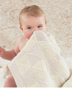 Sublime Baby Cashmere Merino Silk DK Lullaby Blanket Kit - Baby and Kids Accessories