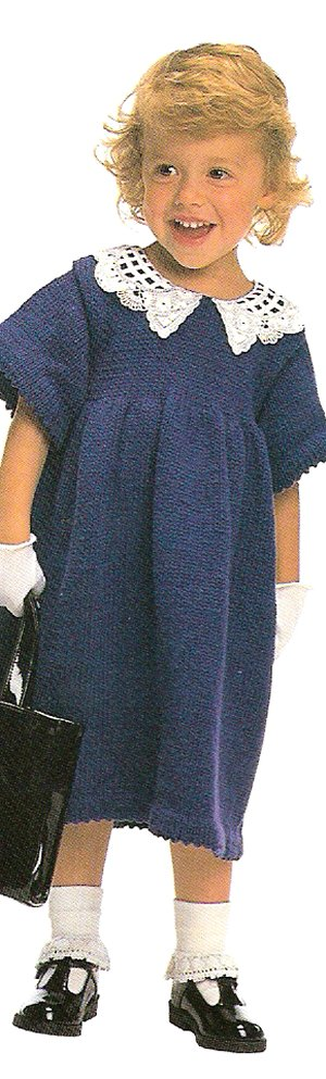 Rowan Handknit Cotton Bellissima Dress Kit - Baby and Kids Accessories