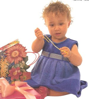 Rowan Handknit Cotton Sweet Pea Dress Kit - Baby and Kids Accessories